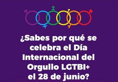 """Campaña de información y sensibilización por el """"Día Internacional del Orgullo LGTBI+"""