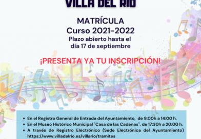 Escuela municipal de música de Villa del Río