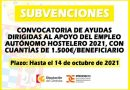 El Carpio | Subvenciones dirigidas al apoyo del empleo autónomo hostelero