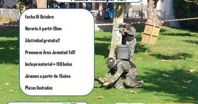 Villa del Río | Gran batalla paintball